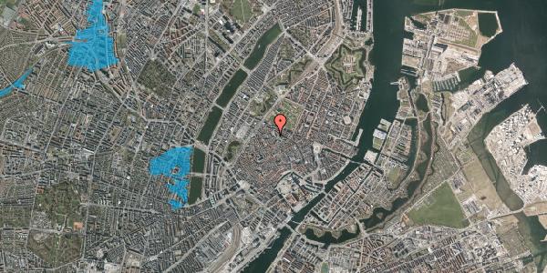 Oversvømmelsesrisiko fra vandløb på Suhmsgade 5, 1125 København K
