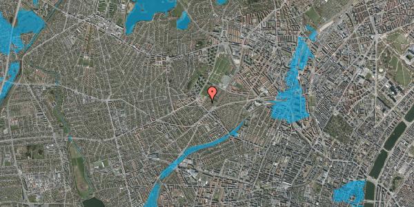 Oversvømmelsesrisiko fra vandløb på Grysgårdsvej 11, 2400 København NV