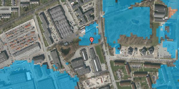 Oversvømmelsesrisiko fra vandløb på Herstedøstervej 23, 2600 Glostrup