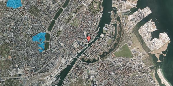 Oversvømmelsesrisiko fra vandløb på Niels Juels Gade 14, 1059 København K