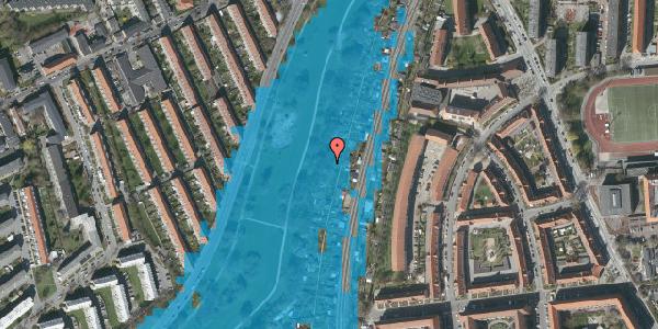 Oversvømmelsesrisiko fra vandløb på Hf. Grænsen 32B, 2000 Frederiksberg