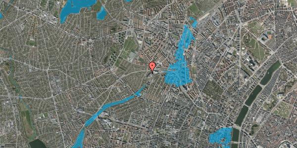 Oversvømmelsesrisiko fra vandløb på Jordbærvej 63, 2400 København NV