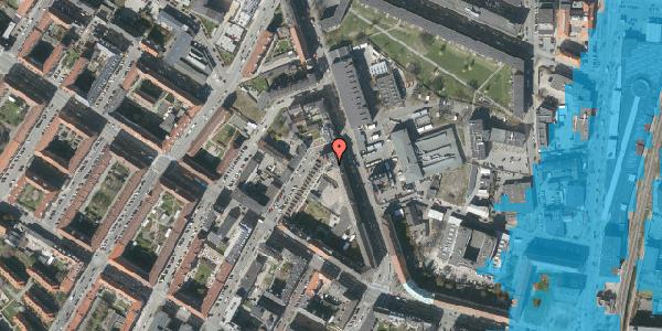 Oversvømmelsesrisiko fra vandløb på Frederiksborgvej 23, 1. 4, 2400 København NV