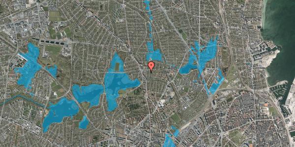 Oversvømmelsesrisiko fra vandløb på Pragtstjernevej 10A, 2400 København NV