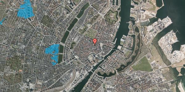 Oversvømmelsesrisiko fra vandløb på Silkegade 3A, 1. , 1113 København K
