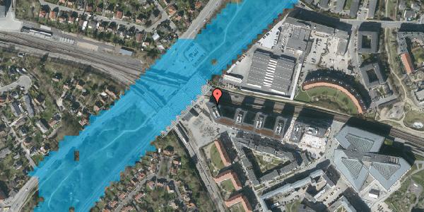 Oversvømmelsesrisiko fra vandløb på Stig Lommers Plads 2, 2000 Frederiksberg