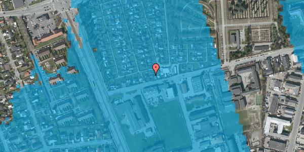 Oversvømmelsesrisiko fra vandløb på Hf. Svarø 5, 2650 Hvidovre