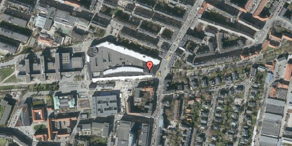 Oversvømmelsesrisiko fra vandløb på Solbjergvej 2B, 2000 Frederiksberg