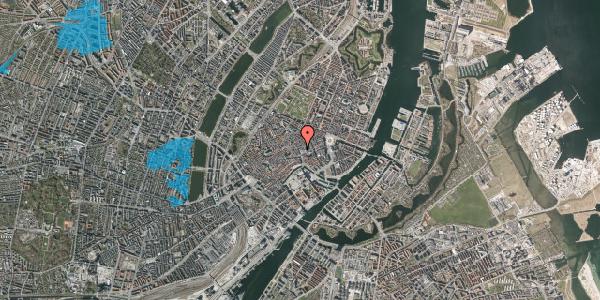 Oversvømmelsesrisiko fra vandløb på Købmagergade 12, 1150 København K