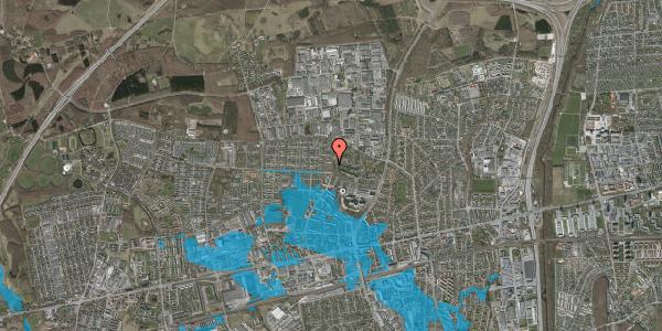 Oversvømmelsesrisiko fra vandløb på Haveforeningen Hersted 3, 2600 Glostrup