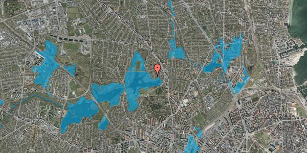 Oversvømmelsesrisiko fra vandløb på Engblommevej 30, 2400 København NV