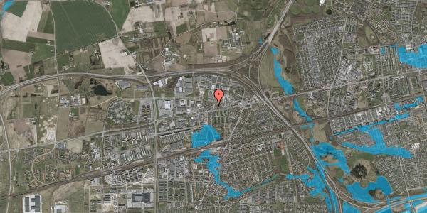Oversvømmelsesrisiko fra vandløb på Nordengen 33, 2630 Taastrup