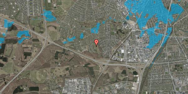Oversvømmelsesrisiko fra vandløb på Kamillevænget 25A, 2600 Glostrup