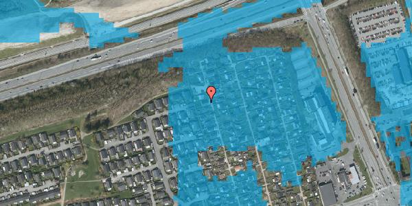 Oversvømmelsesrisiko fra vandløb på Hf. Kettehøj 30, 2650 Hvidovre