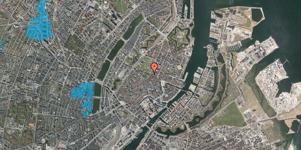 Oversvømmelsesrisiko fra vandløb på Gothersgade 58, 1. th, 1123 København K