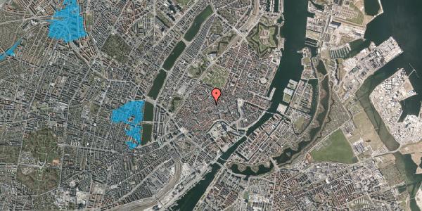 Oversvømmelsesrisiko fra vandløb på Løvstræde 3A, 1152 København K