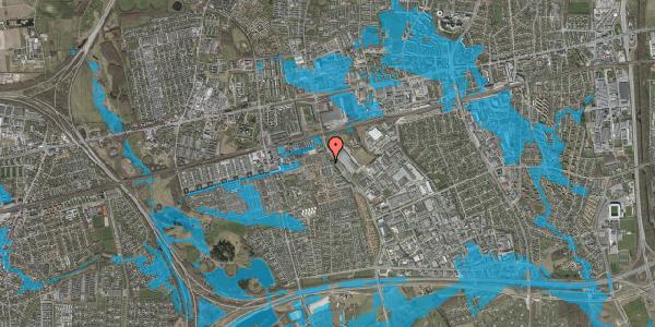 Oversvømmelsesrisiko fra vandløb på Stenkløvervænget 15, 2625 Vallensbæk