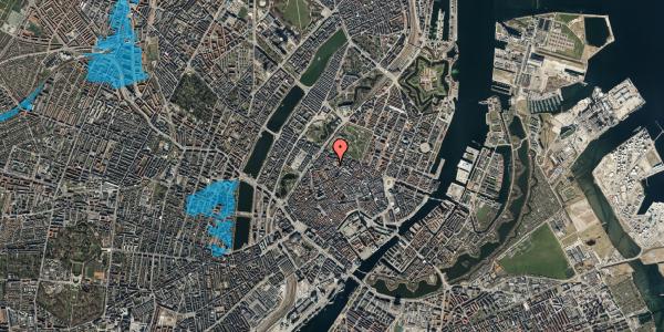 Oversvømmelsesrisiko fra vandløb på Hauser Plads 1, 5. th, 1127 København K