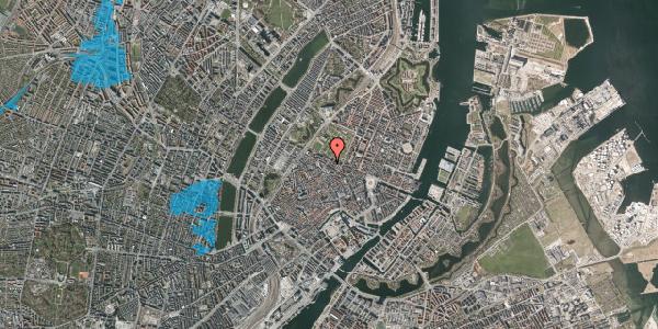 Oversvømmelsesrisiko fra vandløb på Vognmagergade 10, 3. , 1120 København K