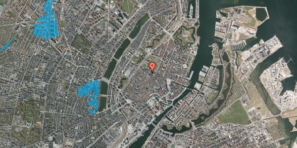 Oversvømmelsesrisiko fra vandløb på Vognmagergade 11, 6. th, 1120 København K