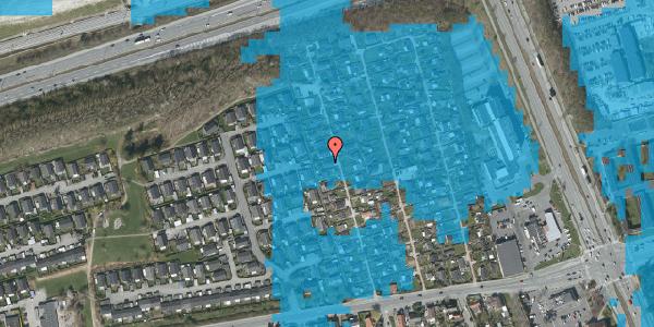 Oversvømmelsesrisiko fra vandløb på Hf. Kettehøj 35, 2650 Hvidovre