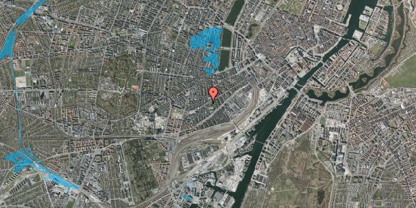 Oversvømmelsesrisiko fra vandløb på Istedgade 81, 1650 København V