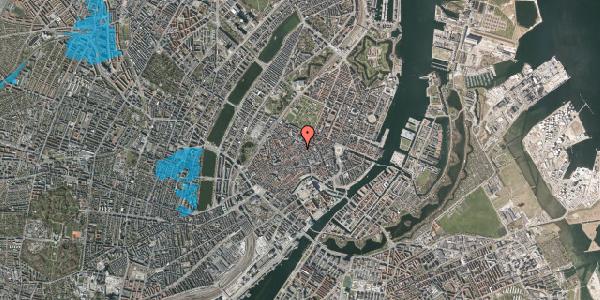 Oversvømmelsesrisiko fra vandløb på Købmagergade 42, 3. , 1150 København K