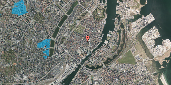 Oversvømmelsesrisiko fra vandløb på Lille Kongensgade 22, st. , 1074 København K