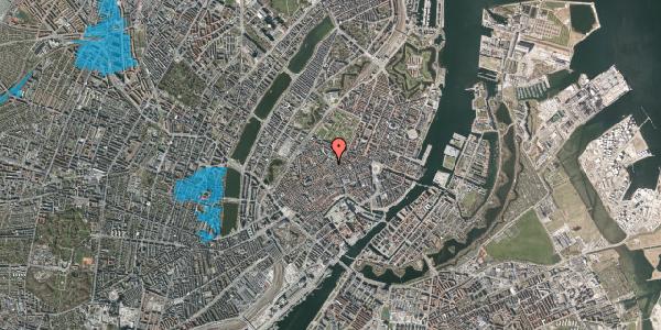 Oversvømmelsesrisiko fra vandløb på Købmagergade 46C, 1. , 1150 København K