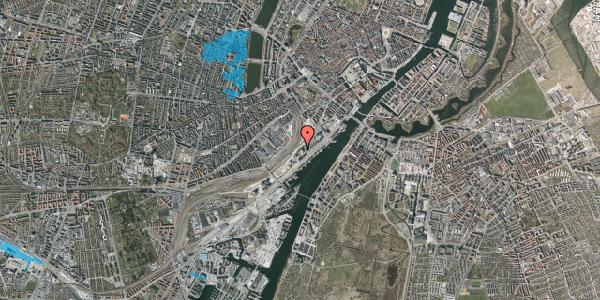 Oversvømmelsesrisiko fra vandløb på Carsten Niebuhrs Gade 11, 3. , 1577 København V
