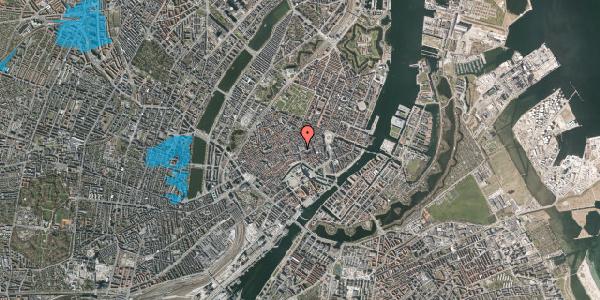 Oversvømmelsesrisiko fra vandløb på Købmagergade 4, 1150 København K