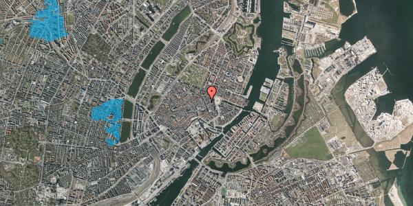 Oversvømmelsesrisiko fra vandløb på Østergade 26B, 4. , 1100 København K