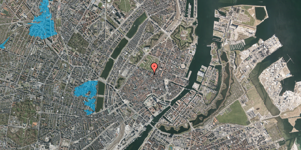 Oversvømmelsesrisiko fra vandløb på Sjæleboderne 2, 2. th, 1122 København K