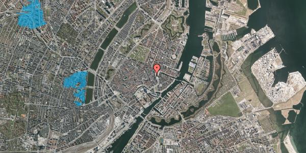 Oversvømmelsesrisiko fra vandløb på Lille Kongensgade 8, st. , 1074 København K