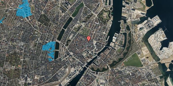 Oversvømmelsesrisiko fra vandløb på Købmagergade 26D, 2. , 1150 København K