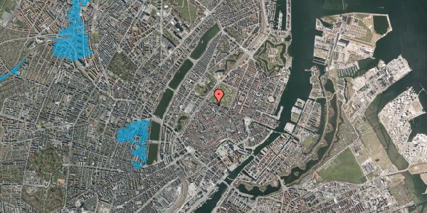 Oversvømmelsesrisiko fra vandløb på Åbenrå 28, st. th, 1124 København K