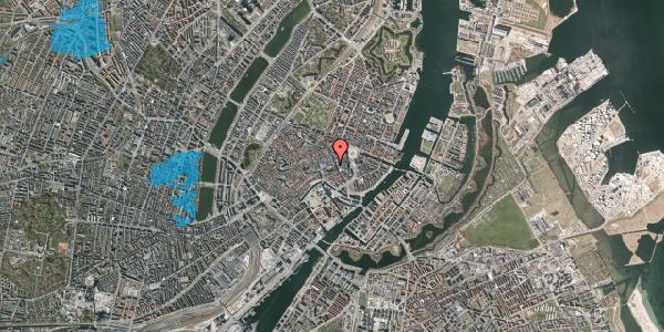 Oversvømmelsesrisiko fra vandløb på Nikolaj Plads 2, st. , 1067 København K