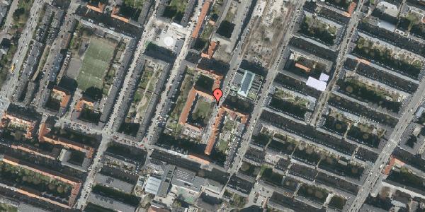 Oversvømmelsesrisiko fra vandløb på Rolfs Plads 23A, 2000 Frederiksberg