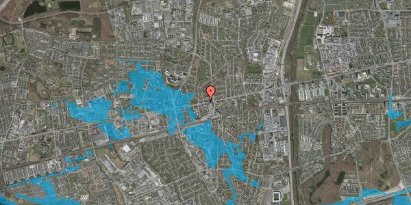 Oversvømmelsesrisiko fra vandløb på Hovedvejen 114A, 2600 Glostrup