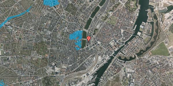 Oversvømmelsesrisiko fra vandløb på Vester Søgade 12, 1601 København V