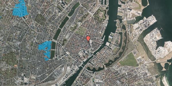 Oversvømmelsesrisiko fra vandløb på Kristen Bernikows Gade 2, 3. , 1105 København K