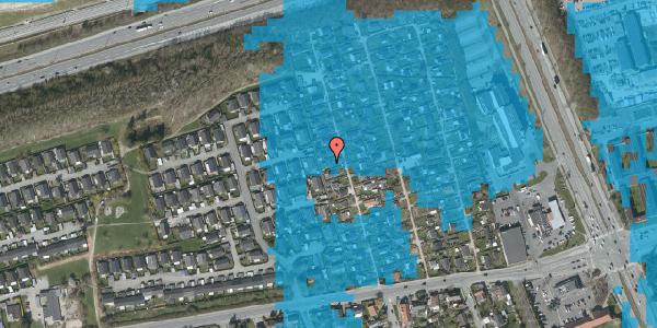 Oversvømmelsesrisiko fra vandløb på Hf. Kettehøj 36, 2650 Hvidovre