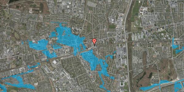 Oversvømmelsesrisiko fra vandløb på Glostrup Shoppingcenter 85, st. , 2600 Glostrup