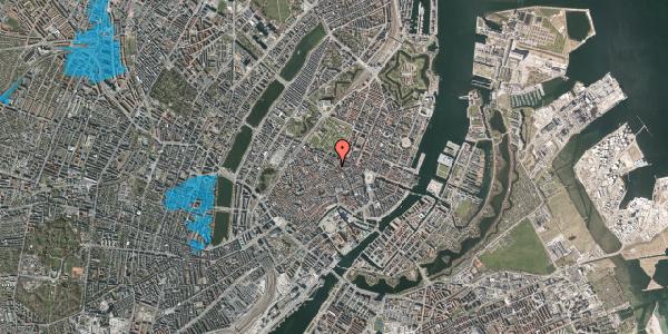 Oversvømmelsesrisiko fra vandløb på Møntergade 5, 4. , 1116 København K
