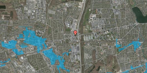 Oversvømmelsesrisiko fra vandløb på Hovedvejen 2, 2. , 2600 Glostrup