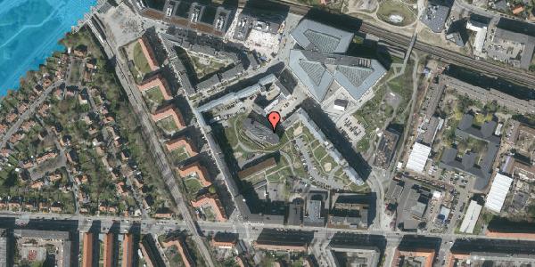 Oversvømmelsesrisiko fra vandløb på Elga Olgas Vej 5, 2. 204, 2000 Frederiksberg