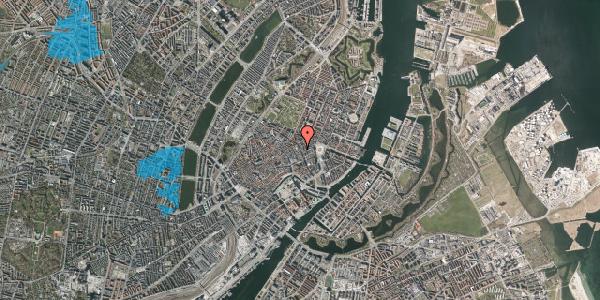 Oversvømmelsesrisiko fra vandløb på Gammel Mønt 1, 1117 København K