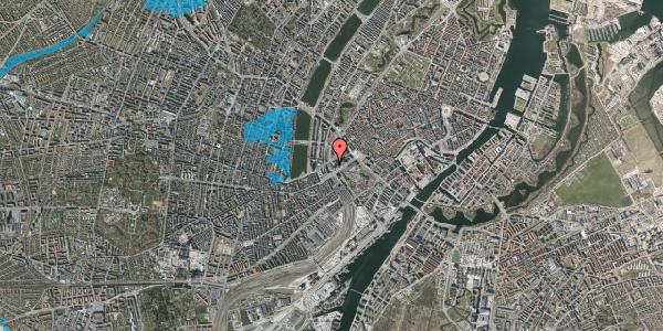 Oversvømmelsesrisiko fra vandløb på Hammerichsgade 5, 11. , 1611 København V