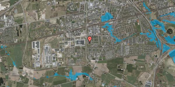 Oversvømmelsesrisiko fra vandløb på Egevangshusene 352, 2630 Taastrup