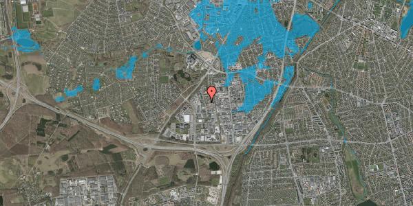 Oversvømmelsesrisiko fra vandløb på Ejbyholm 52, 2600 Glostrup